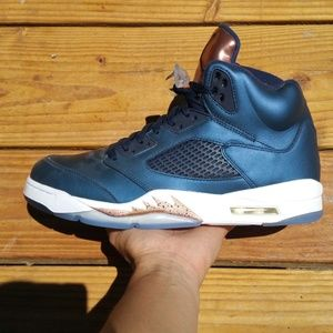 Nike Air Jordan 5 Bronze Basketball Walking Shoes